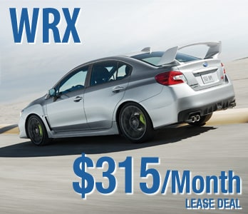2018 Subaru WRX Lease Deal