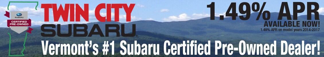 Certified Subaru Inventory
