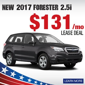 New 2017 Forester Lease Deal