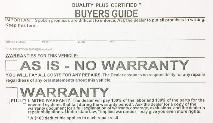 Used Car Buyers Guide | Twin City Subaru