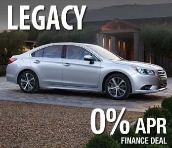 2017 Subaru Legacy Finance Deal