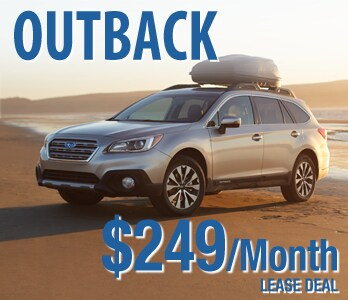 2017 Subaru Outback Lease  Deal