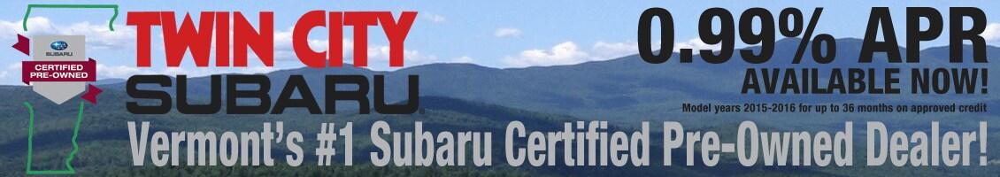 Subaru Certified Pre-Owned  Deal