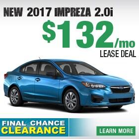 2018 Subaru Impreza Lease Deal