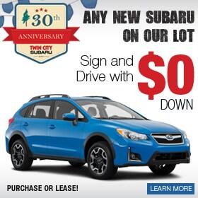 Subaru Zero Down Deal