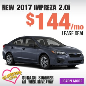 2017 Subaru Impreza Lease Deal