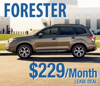 2017 Subaru Forester Lease Deal