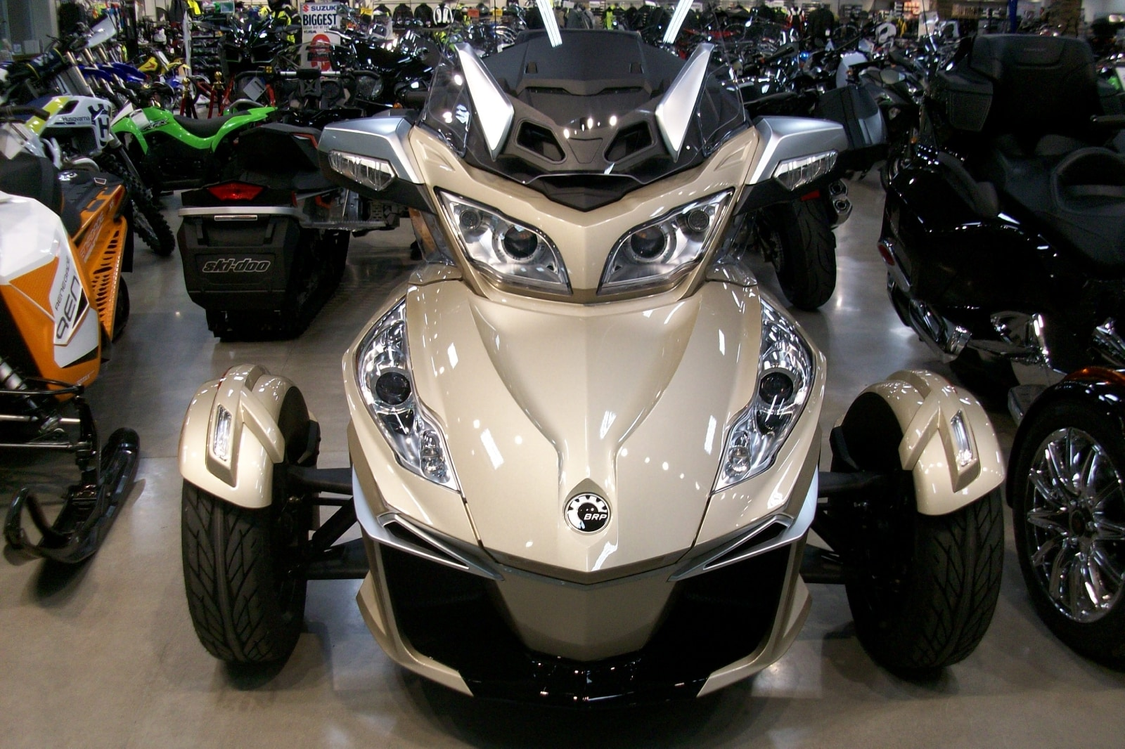 New 2017 Can Am Spyder Rt S Se6 For Sale Guelph On