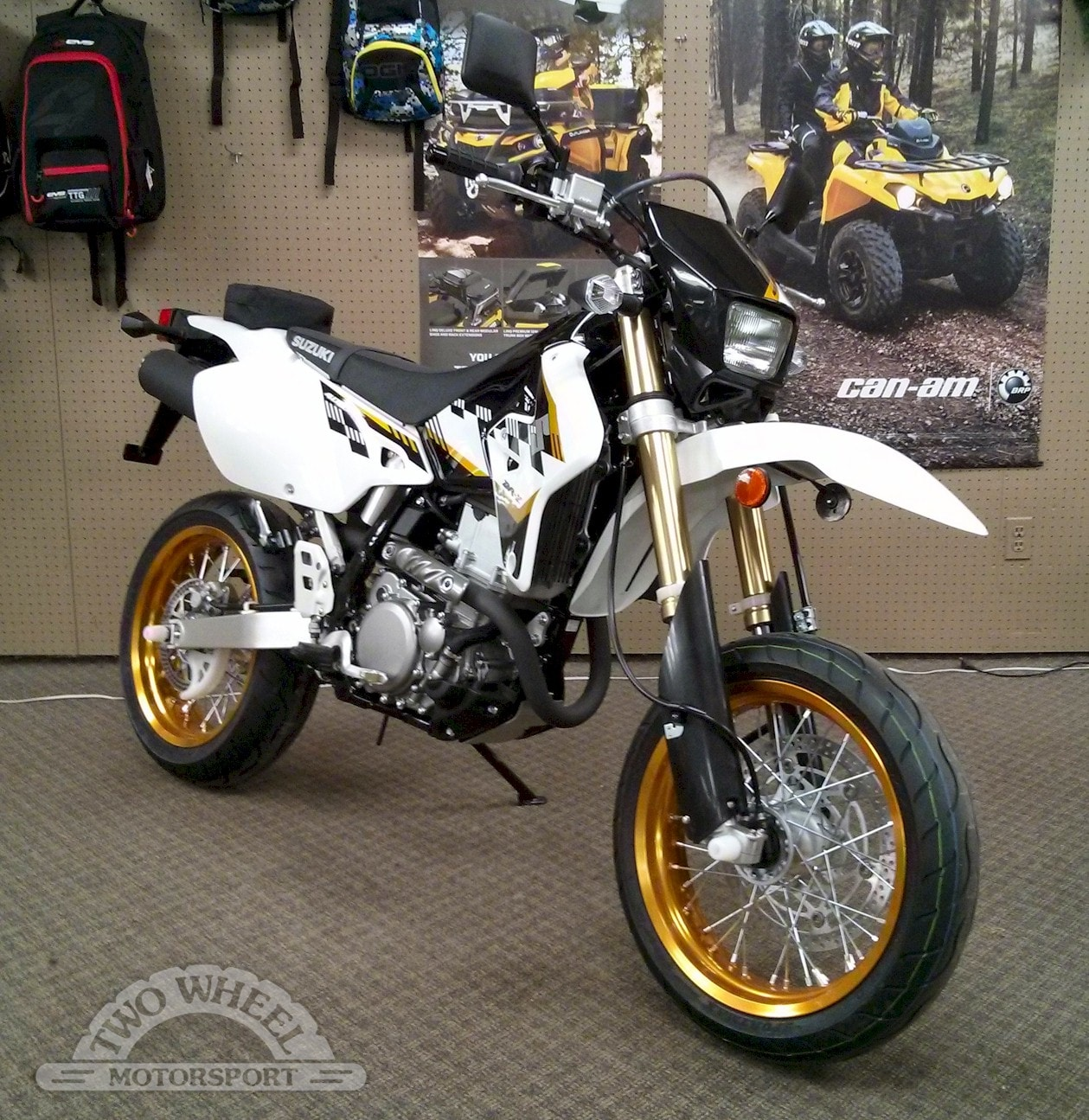 New 2015 suzuki dr z400sm for sale guelph on
