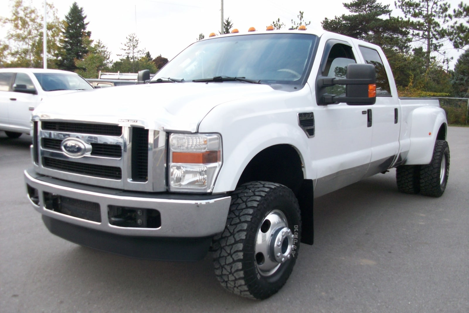 2008 Ford F-350 Lariat DIESEL 4X4 DUALLY CREW Truck Crew Cab
