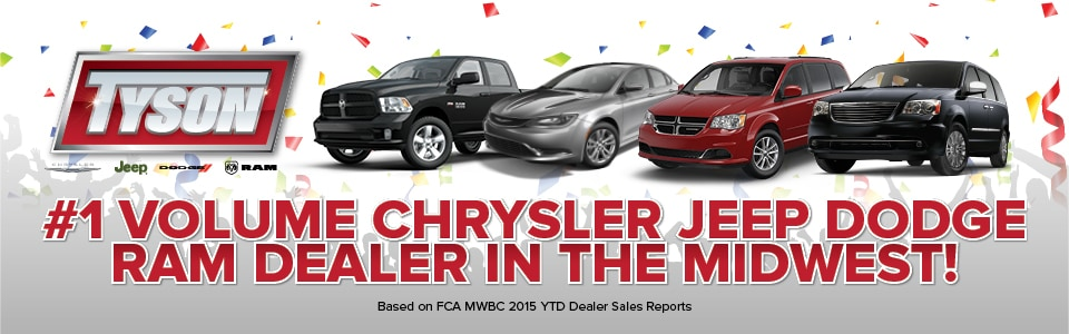Tyson Motor Corporation New Chrysler Dodge Jeep Ram 2018