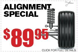 Toyota Wheel Alignment Service Dallas Texas