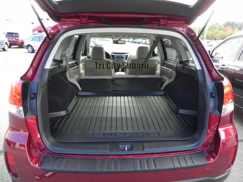 Subaru forester cargo volume