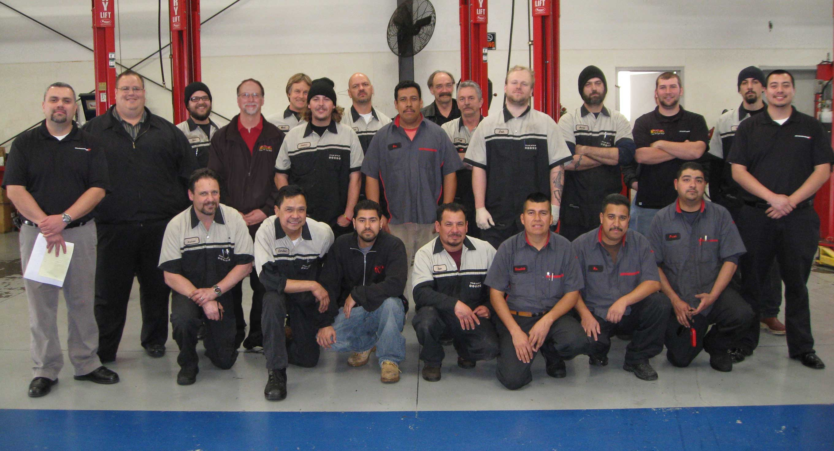 Your Factory Certified Service & Parts Team