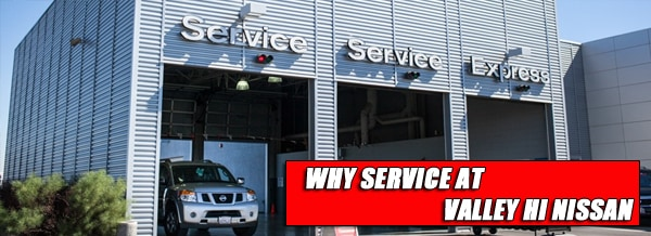 Nissan Service Center near San Bernardino