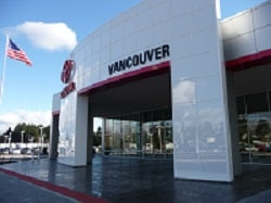 Vancouver Toyota Dealership Exterior