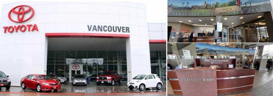 Vancouver Toyota WA