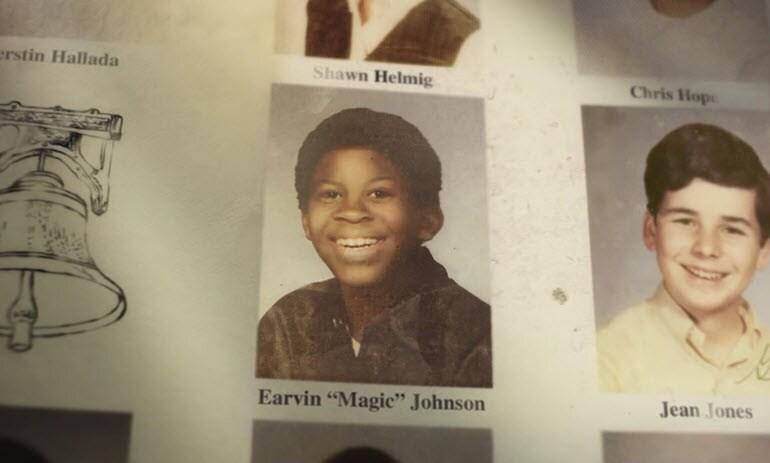 Magic Johnson Honda Yearbook