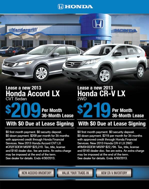2013 Honda Accord At Vandergriff Honda In Arlington 2013