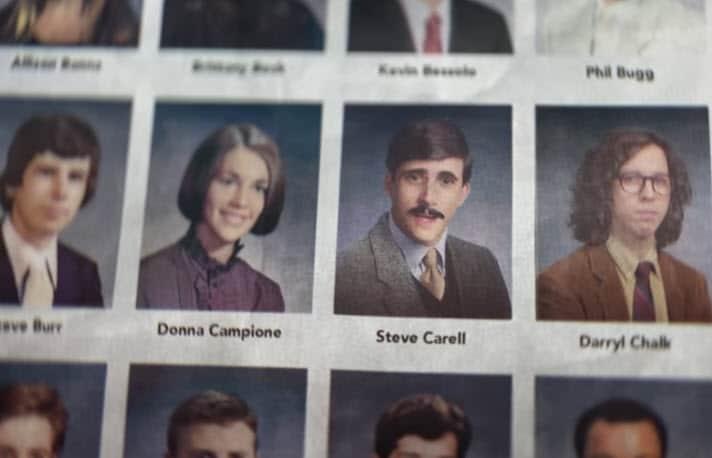 Steve Carell Honda Yearbook