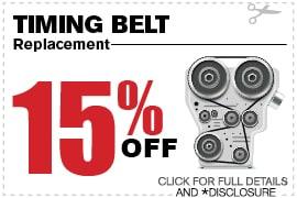 Timing Belt Service Special