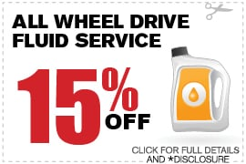 All Wheel Drive Service Special