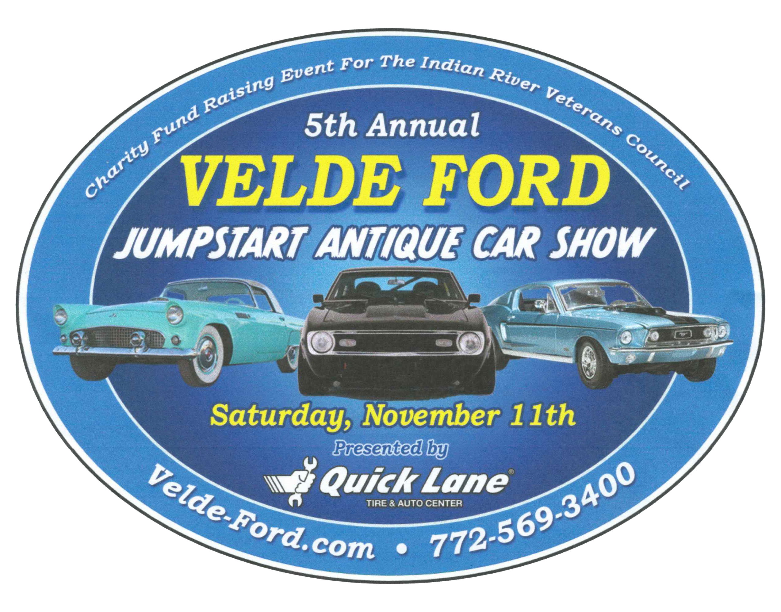 You are invited to the 5th Annual Ford Jump Start Antique Car Show!  sc 1 st  Velde Ford Inc & Velde Ford Inc | New Ford dealership in Vero Beach FL 32962 markmcfarlin.com