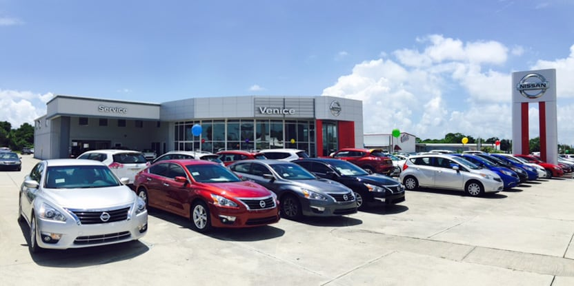 driving directions and map of nissan dealership in venice, florida