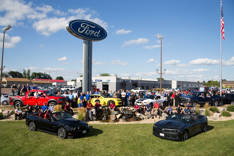 About Vern Eide Ford Lincoln A Ford Dealership In Mitchell