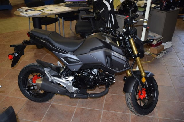 2017 Honda Grom Motorcycle Scooter