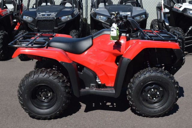 2017 Honda Fourtrax Rancher 4x4 Es ATV