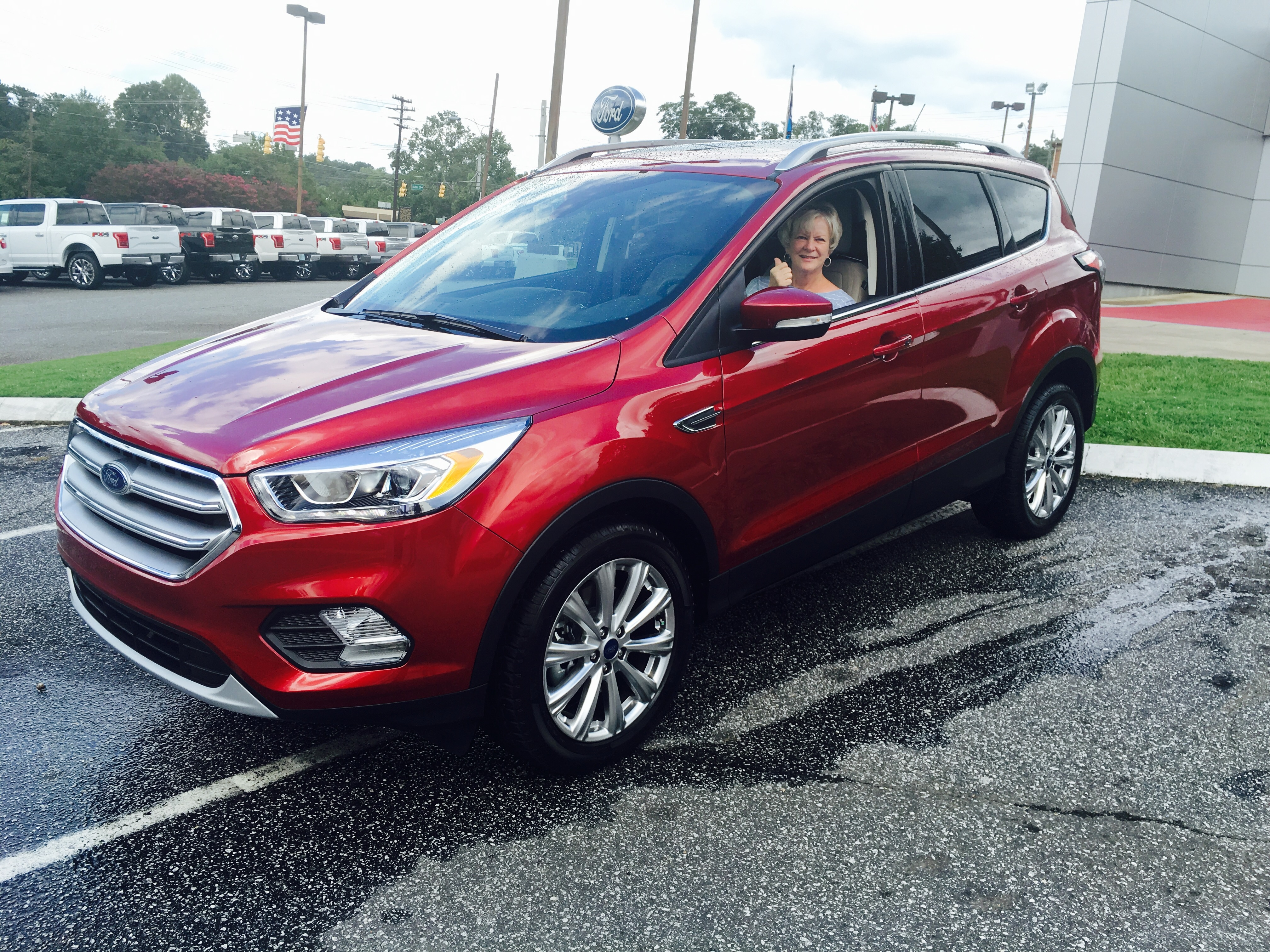 ... a new Ford Escape from Garry and received the 0% financing offer! Come in this month during the Ford Freedom Sales Event and you can be free of interest ... & Vic Bailey Ford | New Ford dealership in Spartanburg SC 29302 markmcfarlin.com