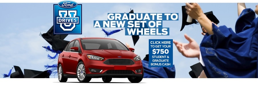Ford College Grad  Offer near Sacramento & Folsom CA