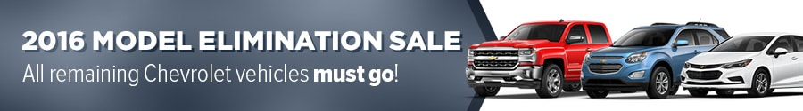 2016 chevy elimination sale near Santa Rosa & Petaluma CA