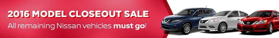 2016 NIssan elimination sale near Bristol & Kingsport TN