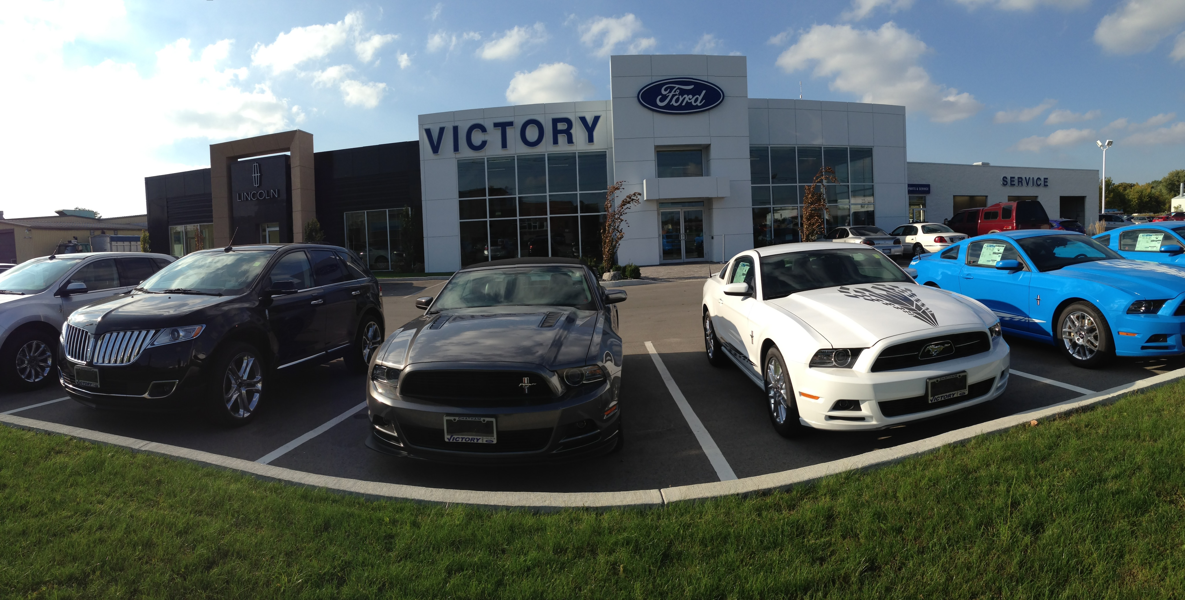 Victory ford lincoln new pre owned dealership vehicle for Parkway motors cedar city