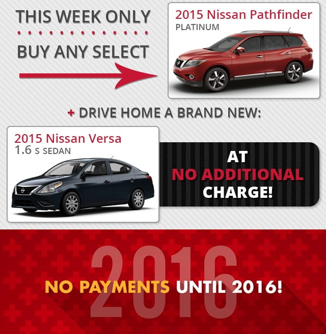 No Payments Until 2016