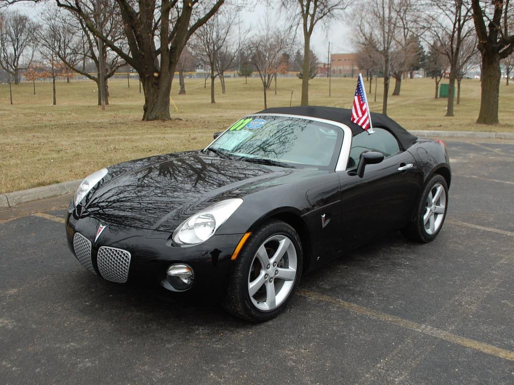 2009 Mysterious Black Pontiac Solstice GXP Coupe #15343149 Photo ...