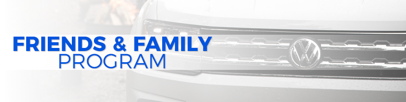 Volkswagen Family and Friends Program