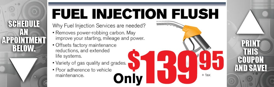 Money Saving Auto Service Coupon from Volvo of Dallas for Fuel Injection Flush