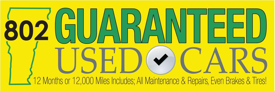 Guaranteed Used Car Inventory
