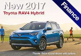 Toyota RAV4 Hybrid Finance Deal