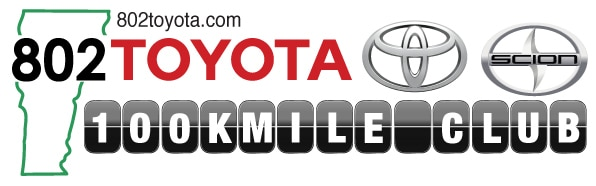 Toyota 100k mile club