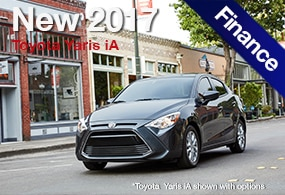 Toyota Yaris iA Finance Deals