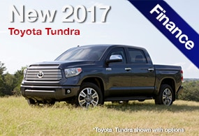 Toyota Tundra Finance Deals