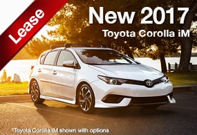 toyota corolla im lease deal