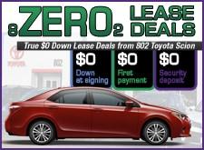 Zero Down Lease Deals