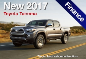 Toyota Tacoma Finance Deal