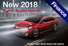 Toyota Avalon Hybrid Finance Deals