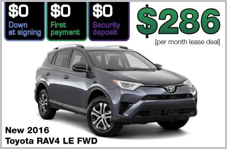 Zero Down Lease Deals >> Zero Down Toyota Lease Deals | 802 Toyota of Vermont